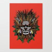 Big Chief Wolfenfreak  Canvas Print
