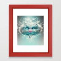 Baron Philip Von Glass Framed Art Print