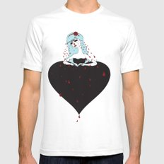 humiliated spade Mens Fitted Tee SMALL White