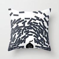 build Throw Pillow