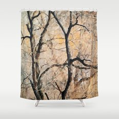 Natures Abstract Shower Curtain