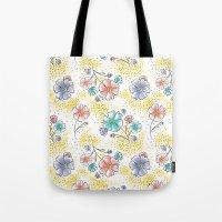 Brilliant Blooms Tote Bag