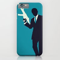 iPhone & iPod Case featuring Minimalist Bond: Quantum of Solace by Tyler Bramer