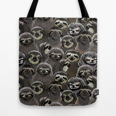 Social Sloths Tote Bag