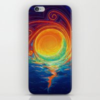 Sun Moon & Stars iPhone & iPod Skin