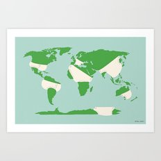 Incontinents Art Print