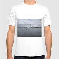 Spinnaker Tower, Portsmouth UK Mens Fitted Tee White SMALL