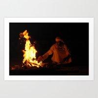 Arabian Fire Art Print