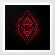 The Eye Of Providence Is… Art Print