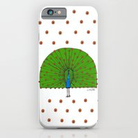 iPhone & iPod Case featuring Peacock by christennoelle