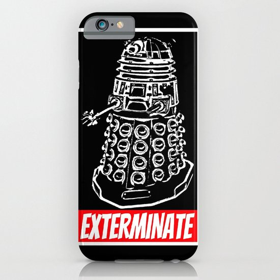 EXTERMINATE  |  Dalek  |  Dr. Who iPhone & iPod Case