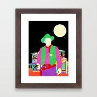The Gay Cowboy Framed Art Print