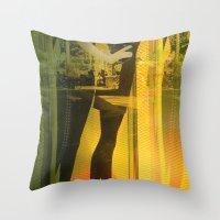 Sweet Shopping Throw Pillow