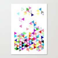 Falling Into Place Canvas Print