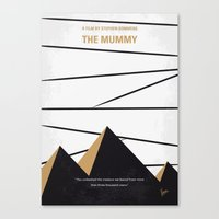 No642 My The Mummy minimal movie poster Canvas Print