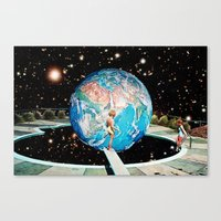 Emerging Planet Canvas Print