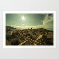Dubrovnik Sunshine  Art Print