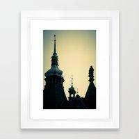 Towers Framed Art Print