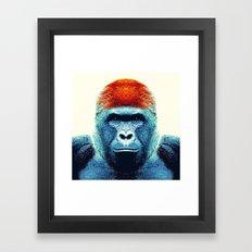 Gorilla -  Animal Framed Art Print