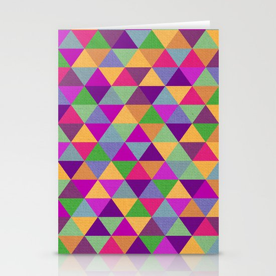 In Love with ▲ Stationery Card
