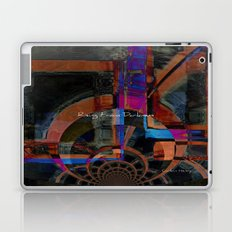 Rising From Darkness Abstract Laptop & iPad Skin