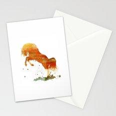 HORSES -Wild mountain pony Stationery Cards