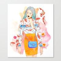 KoyLily Canvas Print