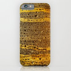 golden abstract iPhone 6 Slim Case