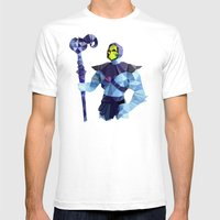 Polygon Heroes - Skeleto… Mens Fitted Tee White SMALL