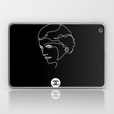Mademoiselle Coco Silhouette -  Laptop & iPad Skin