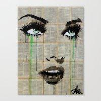 green starlet Canvas Print