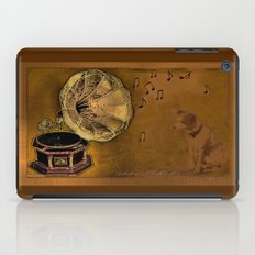 VINTAGE-His Master's voice iPad Case