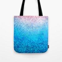 Pink Vs Blue Tote Bag