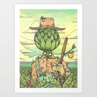 The Hallowed Land Of The… Art Print