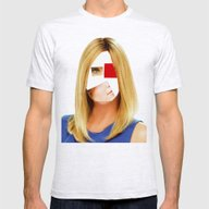 Disaster In Her Face · … Mens Fitted Tee Ash Grey SMALL