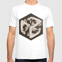 BOX Mens Fitted Tee White SMALL