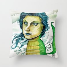 LOVELY CREATURE Throw Pillow