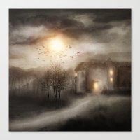 Tales of Halloween Canvas Print