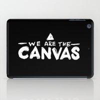 Canvas iPad Case