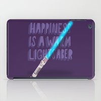 Happiness Is A Warm Ligh… iPad Case