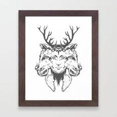 GOD II Framed Art Print