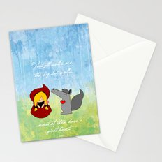 Little Red Riding Hood & Lovely Wolf ♥ Stationery Cards