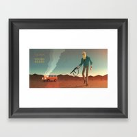 The Man With The Golden … Framed Art Print