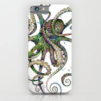 iPhone Cases featuring Octopsychedelia by TAOJB
