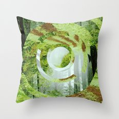 Forest Trips. Throw Pillow