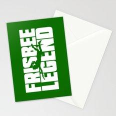 Frisbee Legend Stationery Cards