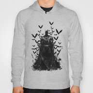 The Night Rises B&W Hoody