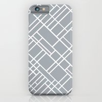 Map Outline Grey 45  iPhone 6 Slim Case