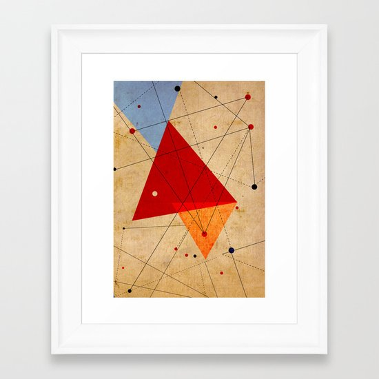 knot Framed Art Print