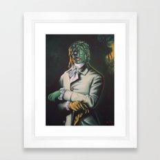 The Honorable Gregg Framed Art Print